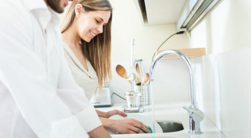 Par der ordner opvasken