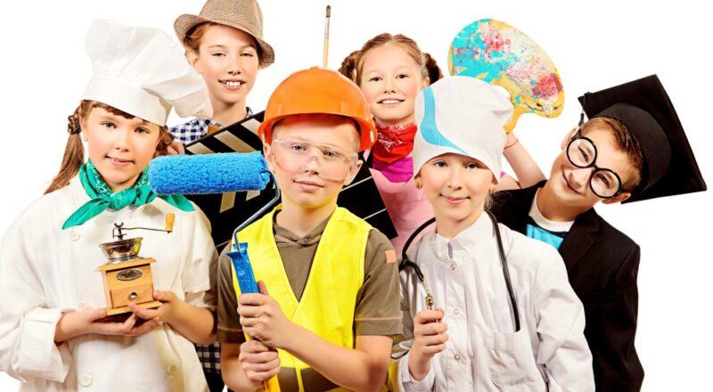 Børn i udklædning