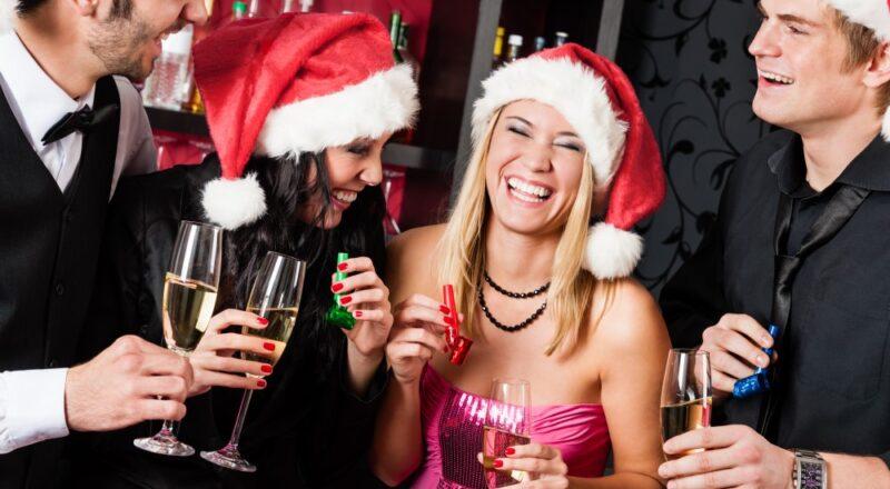 Venner til julefrokost